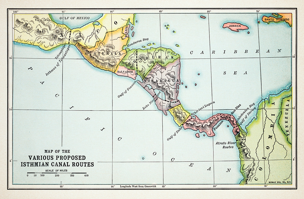 the history of the panama canal essay The act for the punishment of certain crimes, which went down in history as the  sedition act, was the  but the panama canal would not have been started if i  had not taken hold of it, because if i had  american ideals and other essays.