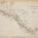 "Fitzroy's ""Map of the Isthmus of Central America."""