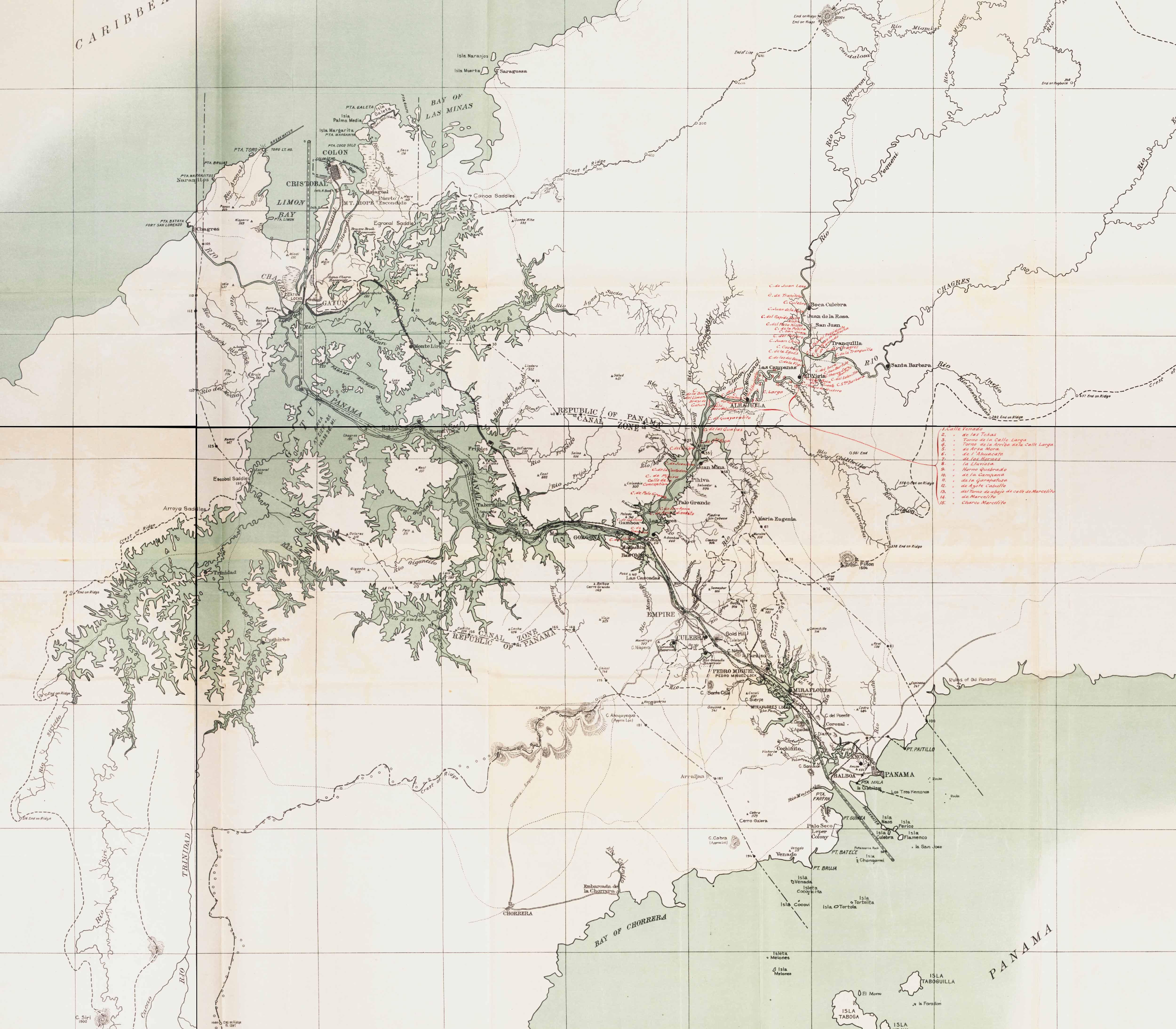 Explore the Map - Panama Exhibit Site